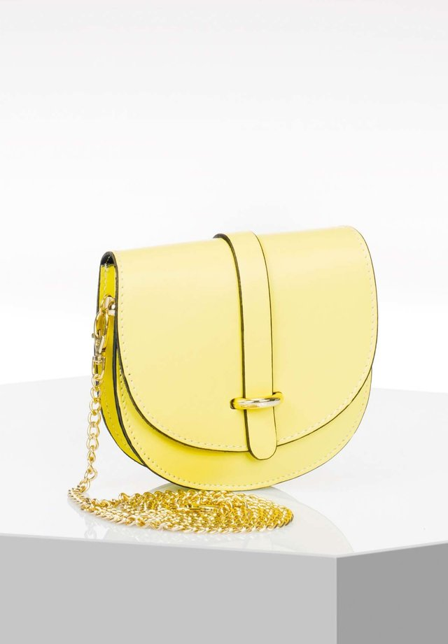 Across body bag - yellow