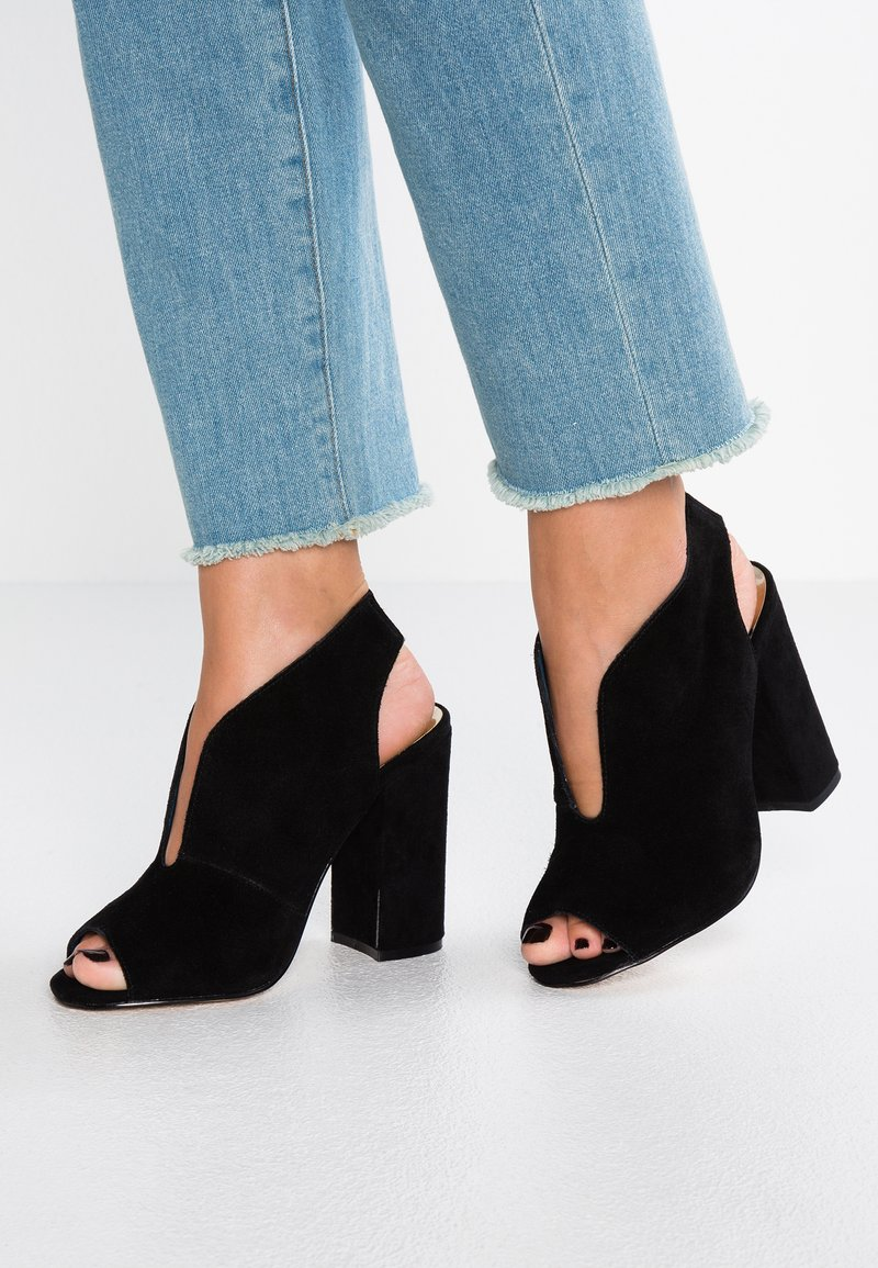 River Island Wide Fit - High Heel Sandalette - black
