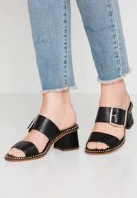 River Island Wide Fit - Sandaler - black - 0