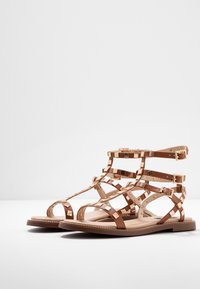 River Island Wide Fit - Sandals - tan - 4