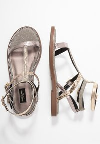 River Island Wide Fit - Sandals - bronze - 3