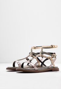 River Island Wide Fit - Sandals - bronze - 4