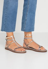 River Island Wide Fit - Sandals - bronze - 0