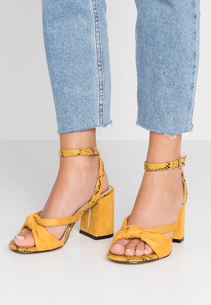 River Island Wide Fit - Sandaler - yellow