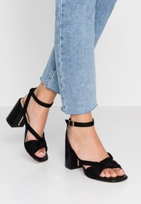 River Island Wide Fit - Sandals - black - 0