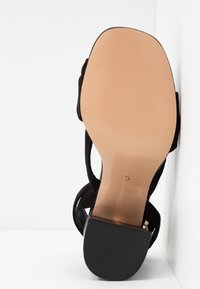 River Island Wide Fit - Sandals - black - 6