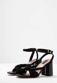 River Island Wide Fit - Sandals - black - 4