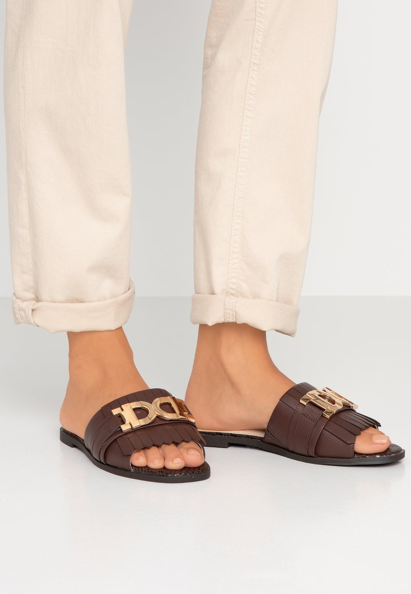 River Island Wide Fit - Sandaler - chocolate