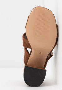 River Island Wide Fit - Heeled mules - brown - 6