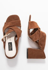 River Island Wide Fit - Heeled mules - brown - 3