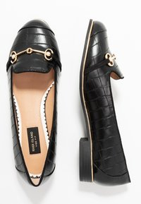 River Island Wide Fit - Instappers - black - 3