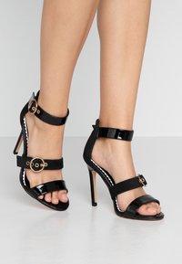 River Island Wide Fit - High heeled sandals - black - 0