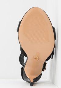 River Island Wide Fit - High heeled sandals - black - 6