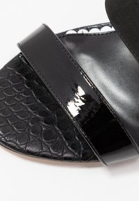 River Island Wide Fit - High heeled sandals - black - 2