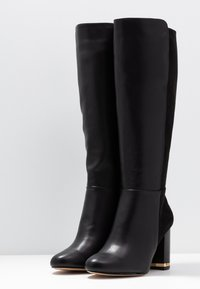 River Island Wide Fit - High heeled boots - black - 4
