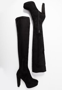 River Island Wide Fit - High heeled boots - black - 3