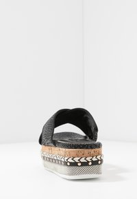 River Island Wide Fit - Pantofle na podpatku - black - 5