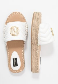 River Island Wide Fit - Pantofle - white - 3