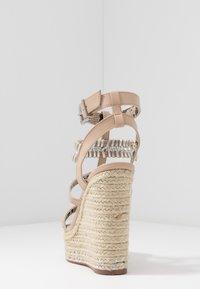 River Island Wide Fit - Sandaler med høye hæler - light pink - 5