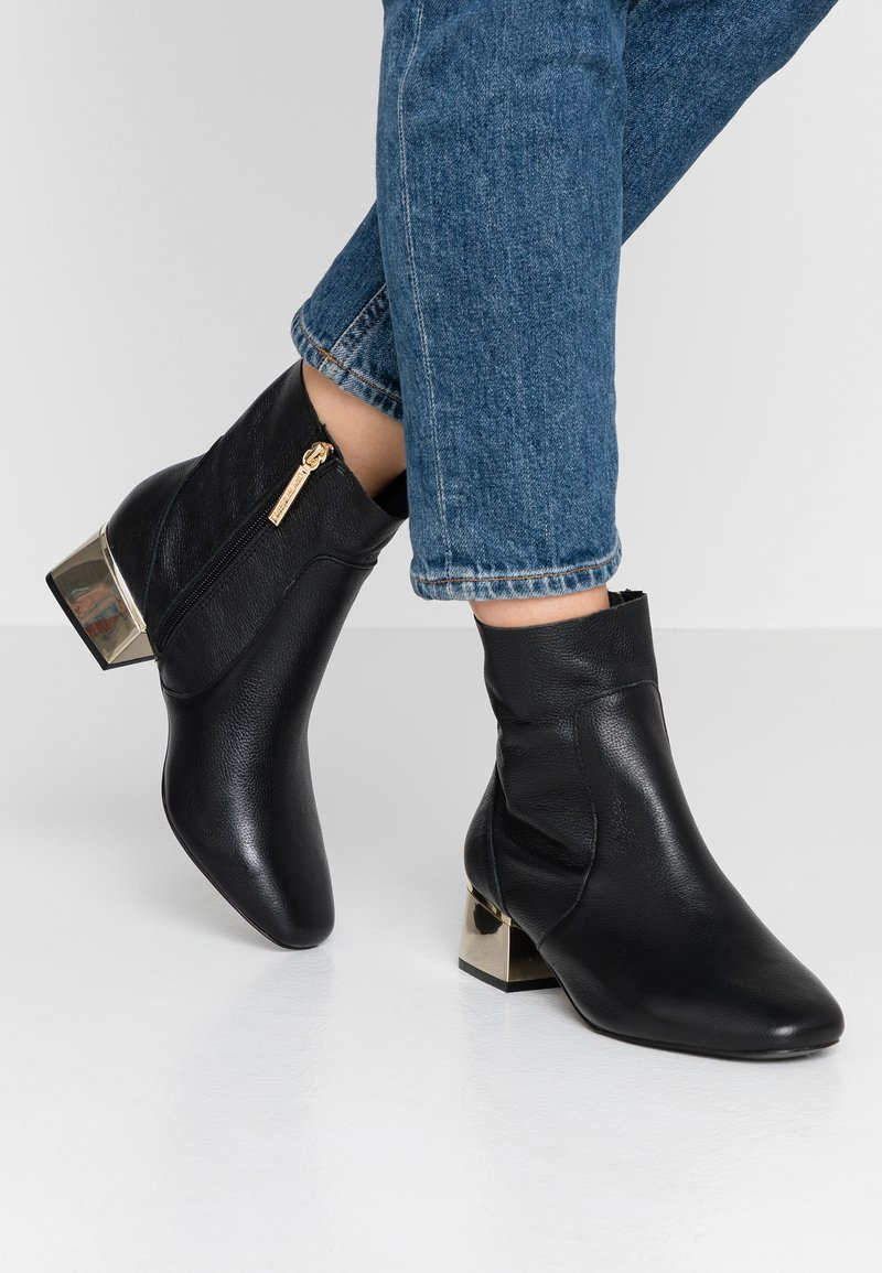 River Island Wide Fit - Støvletter - black