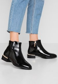 River Island Wide Fit - Ankle boots - black - 0