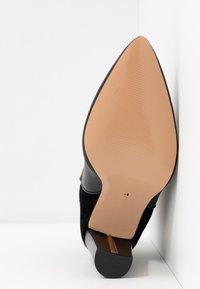 River Island Wide Fit - Kotníková obuv na vysokém podpatku - black - 6