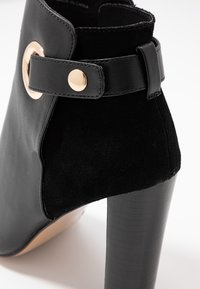 River Island Wide Fit - Kotníková obuv na vysokém podpatku - black - 2