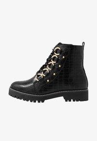 River Island Wide Fit - Platform ankle boots - black - 1