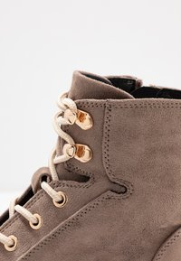 River Island Wide Fit - Lace-up ankle boots - grey - 2