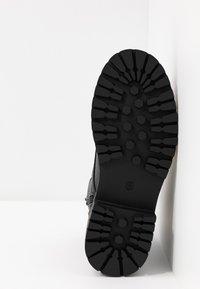 River Island Wide Fit - Kotníkové boty na platformě - black - 6