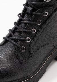 River Island Wide Fit - Kotníkové boty na platformě - black - 2