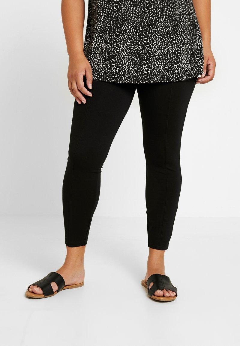 River Island Plus - Leggings - Trousers - black