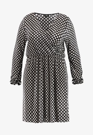 BELLE POLKA DOT - Denní šaty - black