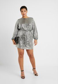 River Island Plus - Cocktail dress / Party dress - silver - 2
