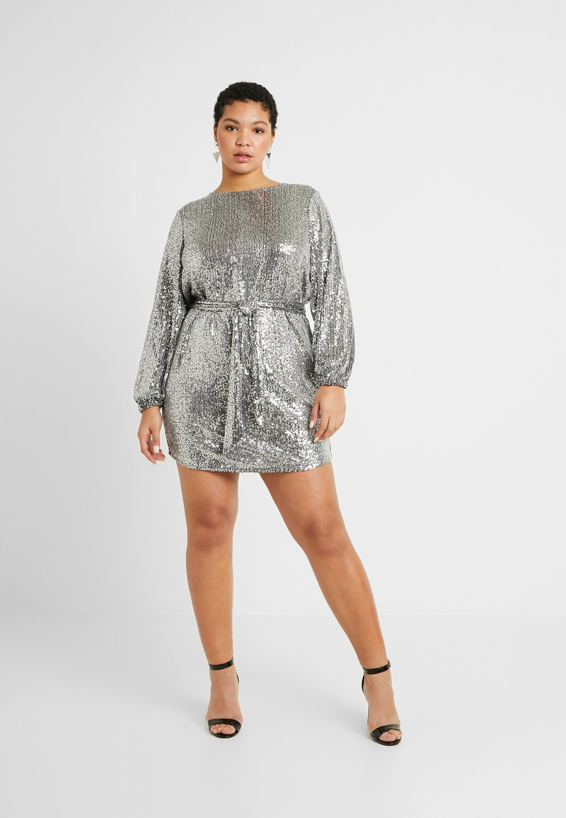 River Island Plus - Cocktail dress / Party dress - silver