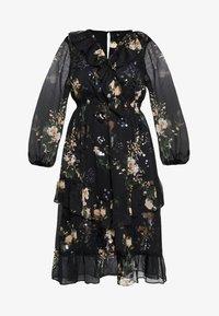River Island Plus - SEOUL FRILLY DRESS - Day dress - black - 5