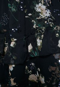 River Island Plus - SEOUL FRILLY DRESS - Day dress - black - 6