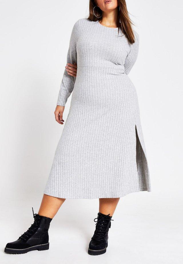 Neulemekko - grey