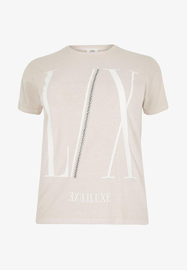 DIAMANTE  - T-shirt print - cream