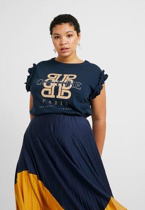 COUTURE JUMBO TEE - T-shirts med print - black