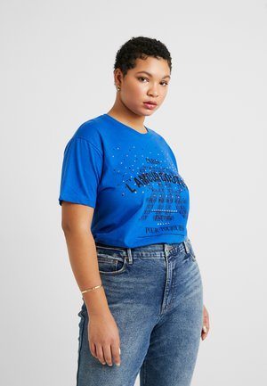 PLUS SIZE LAMOUR COUTURE HEAT - T-shirt à manches longues - blue