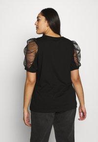 River Island Plus - J'ADORE - Print T-shirt - black - 2