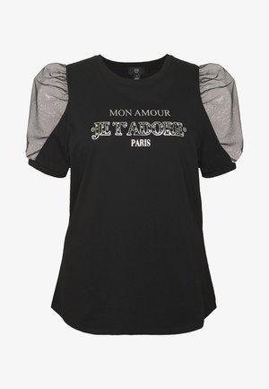 J'ADORE - T-shirt med print - black