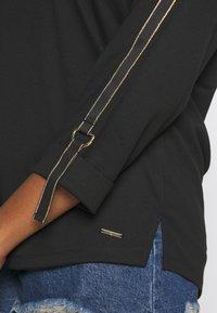 River Island Plus - Long sleeved top - black - 5