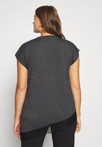 River Island Plus - ADORE  TEE - Print T-shirt - black - 2