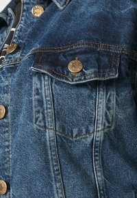 River Island Plus - Denim jacket - denim dark - 5