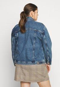 River Island Plus - Denim jacket - denim dark - 2