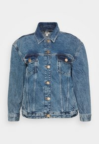 River Island Plus - Denim jacket - denim dark - 4