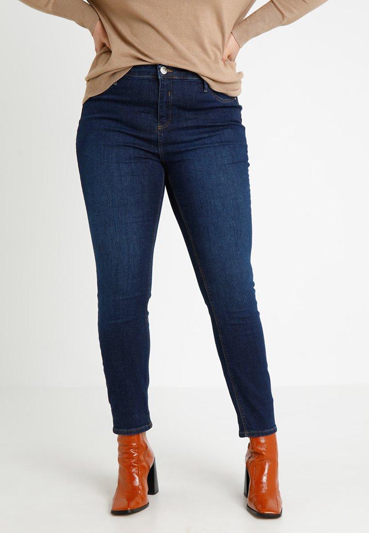 River Island Plus - Jeans Skinny Fit - dark-blue denim