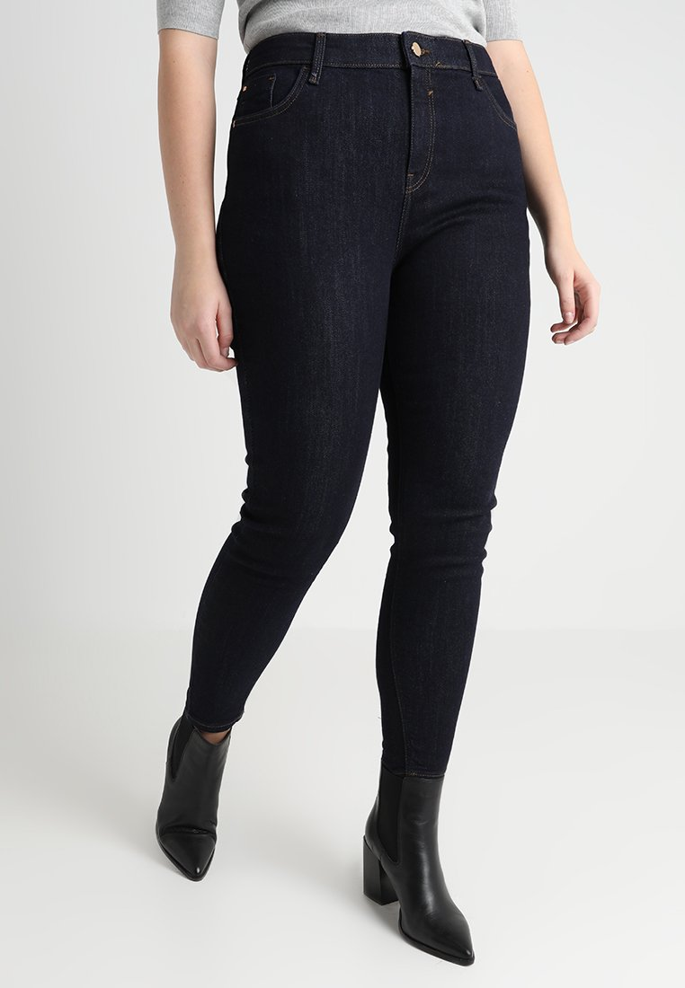 River Island Plus - Jeans Skinny Fit - dark auth